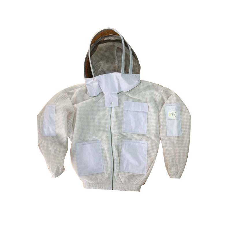 Ultra ventilated Beekeeping Jacket with Fencing Veil