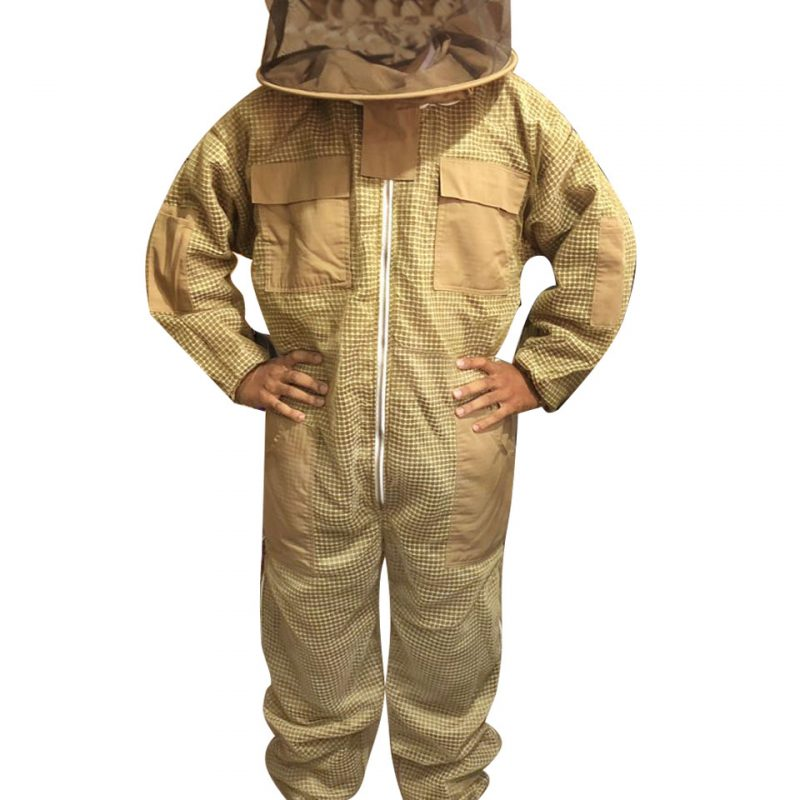3-layer Ultra Breeze ventilated Beekeeping Suit with Round Veil