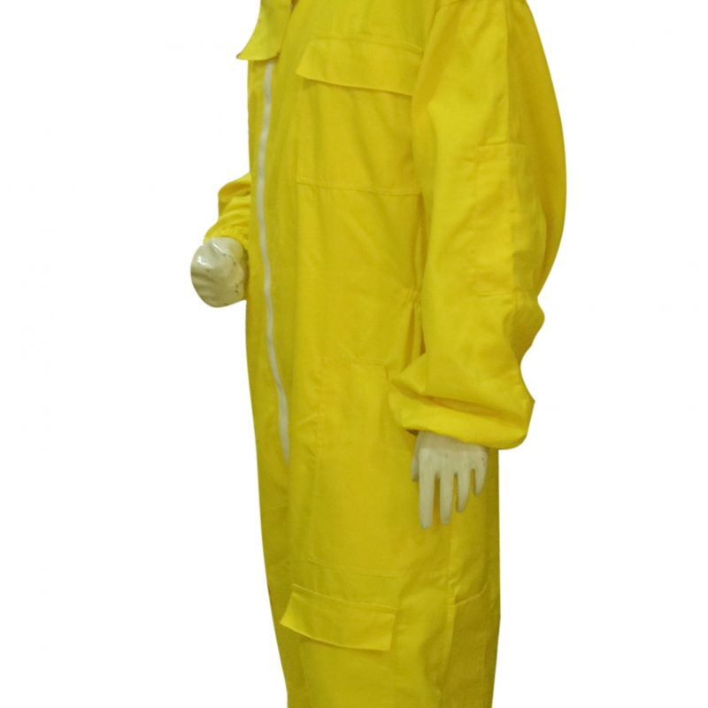 Massive Bee Store Beekeeping Professional Protective Suits with fencing veil Yellow