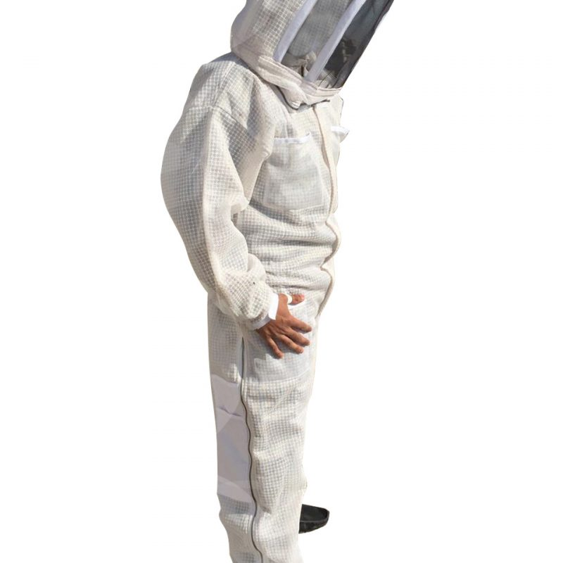 3-layer Ultra Breeze ventilated Beekeeping Suit with Fencing Veil