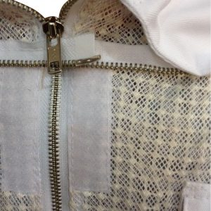 3-layer Ultra Breeze ventilated Beekeeping Suit with Fencing Veil Face Zipper
