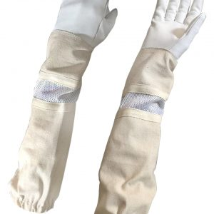 Beekeeping Ventilated canvas Gloves kids