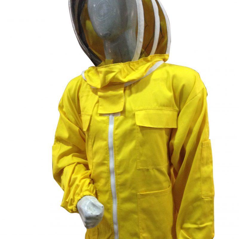 Beekeeping Jacket fencing veil Yellow protective jacket