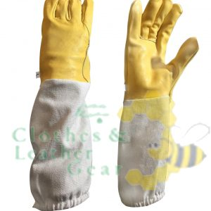Beekeeping Ventilated Gloves cowhide