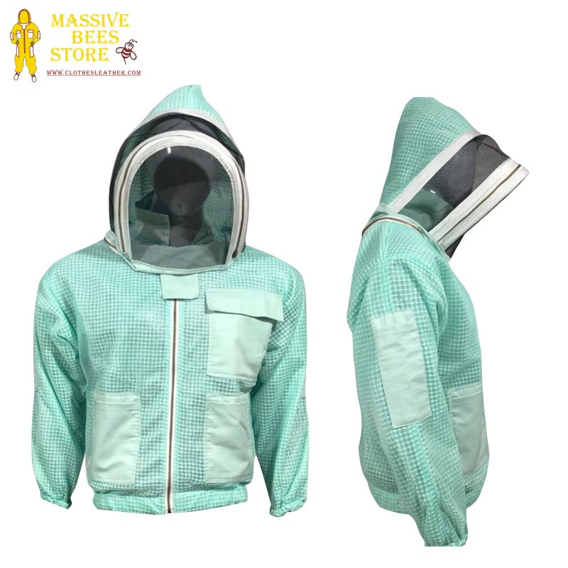 Breeze ventilated Beekeeping Jacket Fencing Veil