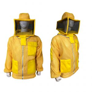 Breeze ventilated Square Beekeeping Jacket yellow